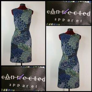 Connected Apparel Woman Sleeveless Sheath Dress